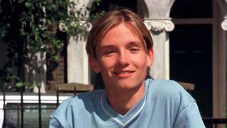 Jack Ryder as Jamie Mitchell in Eastenders in 1998