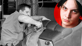 Jack White - once an upholsterer, now a rock star