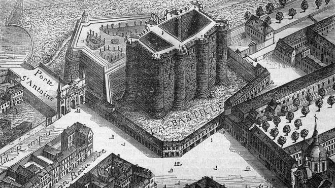 The Bastille, yesterday. And when we say yesterday, we mean 1553.