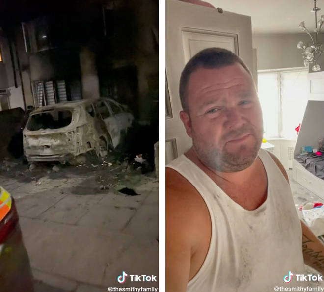 The Smithys forced to leave home after suspected arson attack