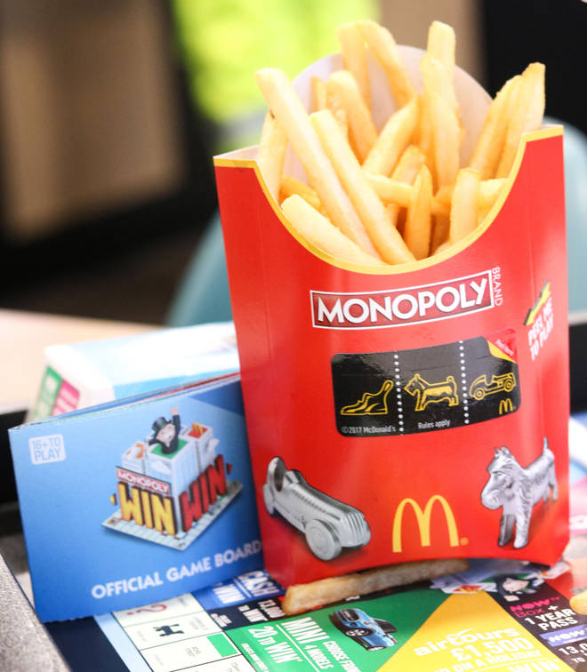 The McDonald's Monopoly game is back for 2021
