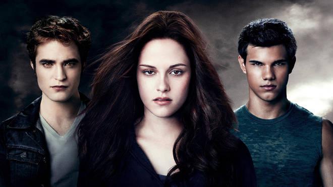 Robert Pattinson, Kristen Stewart and Taylor Lautner in Twilight