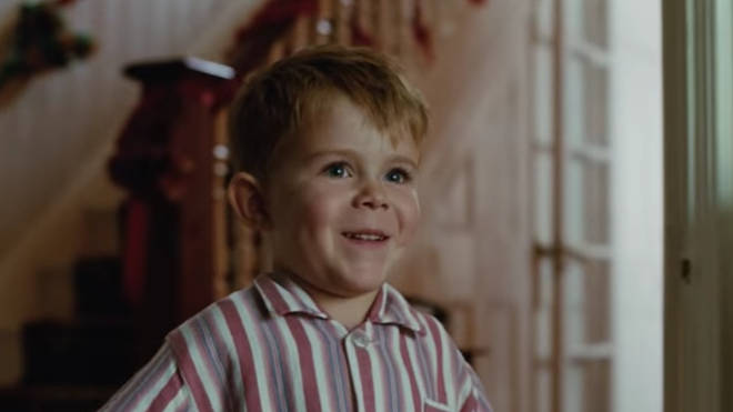The young star of the John Lewis Christmas advert