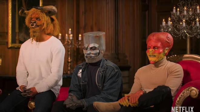 Contestants on Netflix's Sexy Beasts