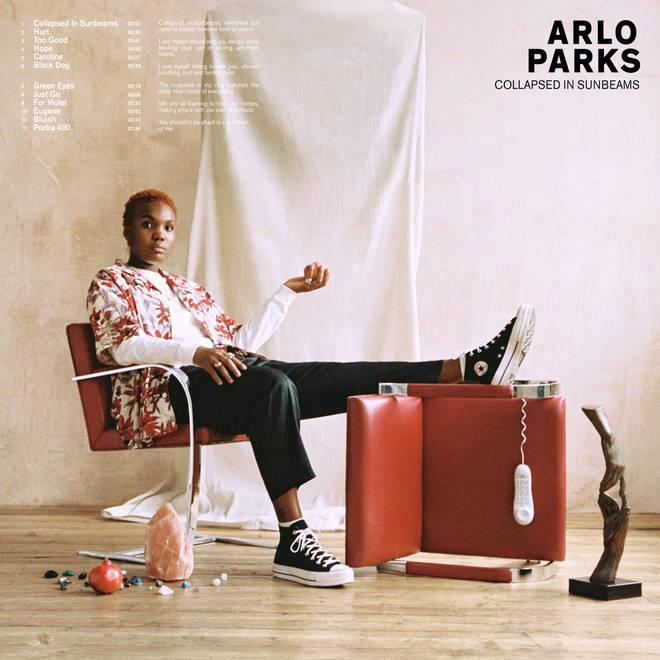 Arlo Park's Collapsed In Sunbeam's album artwork
