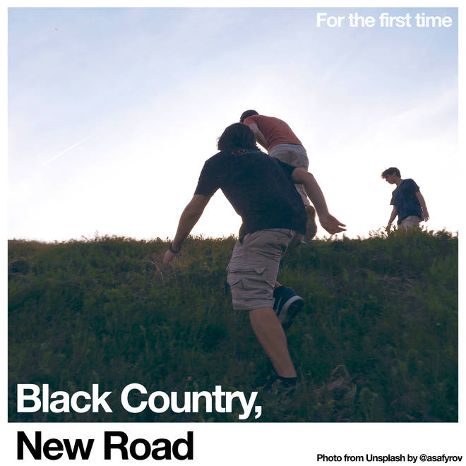 Black Country, New Road's For The First Time album artwork