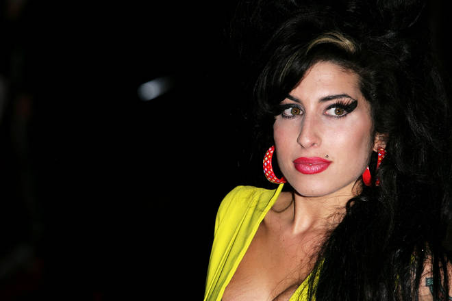 Amy Winehouse arrives at the Brit Awards, February 2007