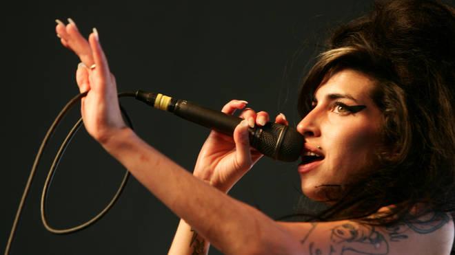 Amy Winehouse performing at Coachella, 2007