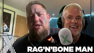 Rag'n'Bone Man talks to Chris Moyles about being back on stage