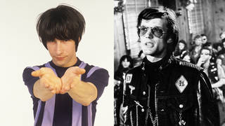Bobby Gillespie of Primal Scream and Peter Fonda in The Wild Angels