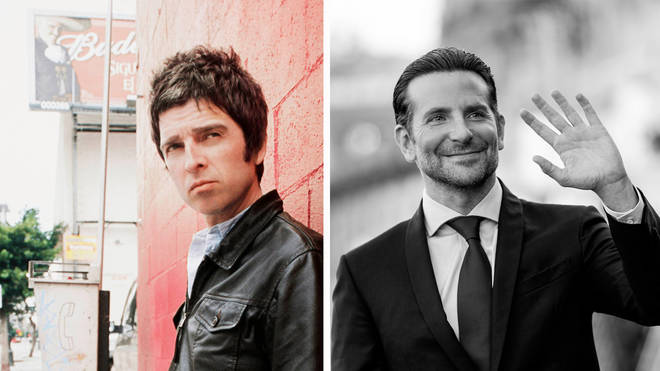 Noel Gallagher and actor Bradley Cooper
