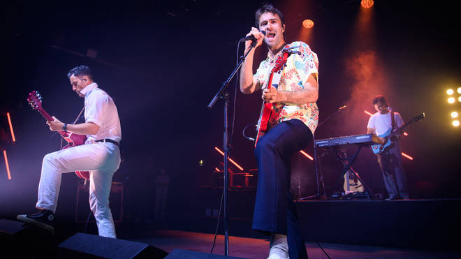 The Vaccines performing live at the O2 Forum Kentish Town, 26 July 2021