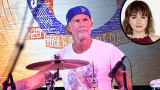 Chad Smith and his daughter Ava Maybee inset