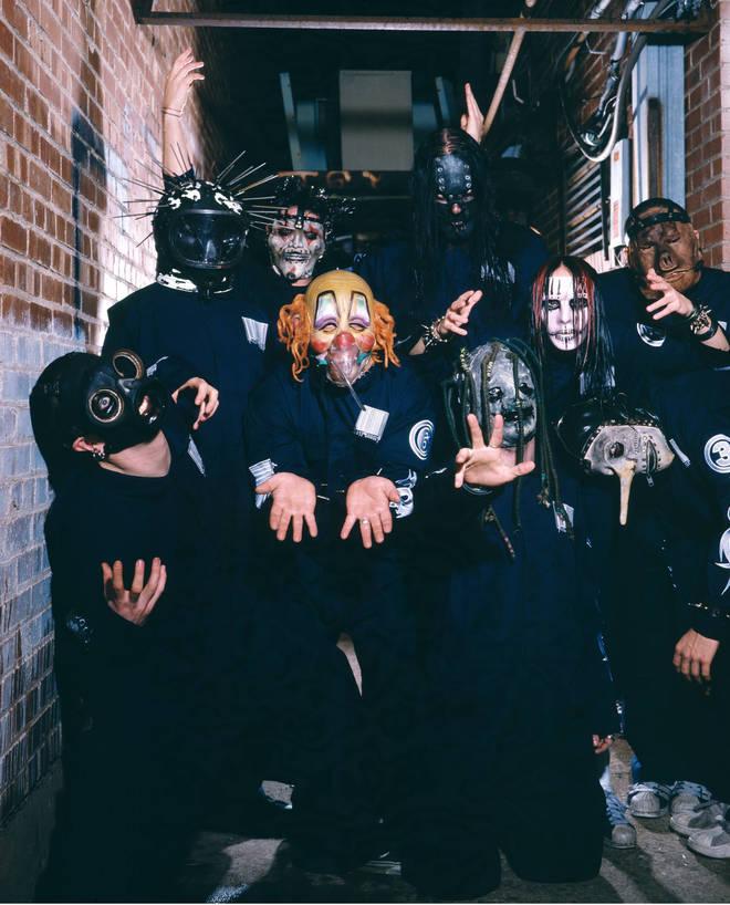 Slipknot in 2000