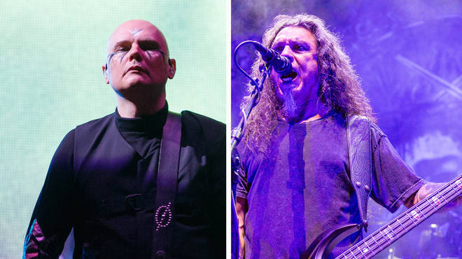 Smashing Pumpkins frontman Billy Corgan and Slayer singer and bassist Tom Araya