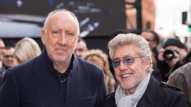 Roger Daltrey and Pete Townshend of The Who in November 2019