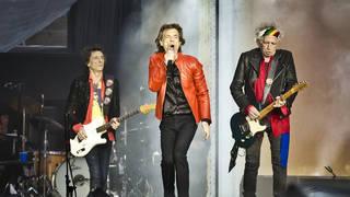 Rolling Stones performing in Berlin, June 2018