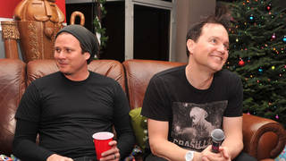 Tom DeLonge and Mark Hoppus at 22nd Annual KROQ Almost Acoustic Christmas Concert