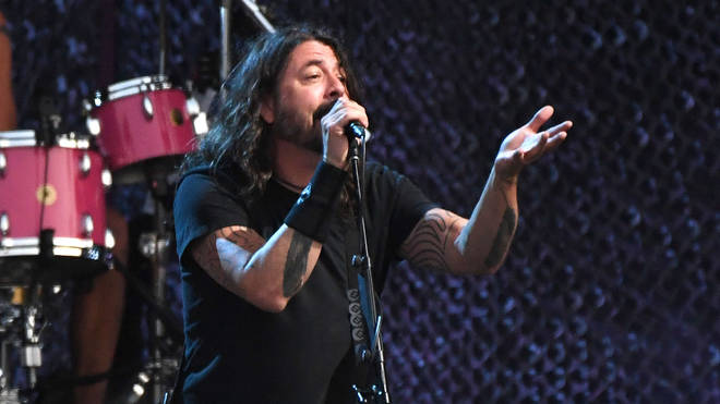 Dave Grohl at Lollapalooza 2021