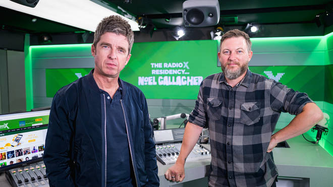 Noel Gallagher and Matt Morgan on Radio X