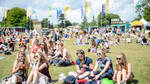 The crowds at Wilderness festival