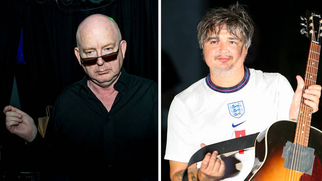 Alan McGee and The Libertines' Pete Doherty