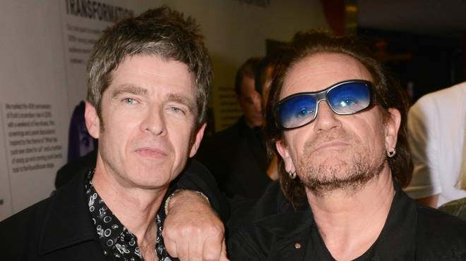 """Noel Gallagher and Bono on a night out in 2018: """"He can put a shift in"""""""