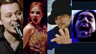 The stars of 1996: Manic Street Preachers, The Spice Girls, Jamiroquai and Babylon Zoo