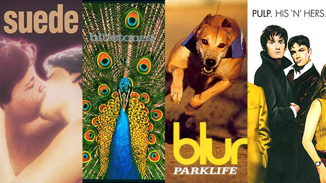 Just some of the greatest Britpop albums: Suede. The Bluetones, Blur and Pulp