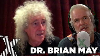 Brian May speaks to The Chris Moyles Show