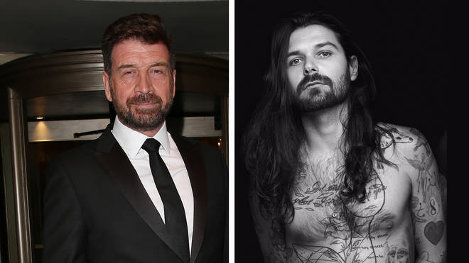 I'm A Celeb star Nick Knowles and Biffy Clyro frontman Simon Neil