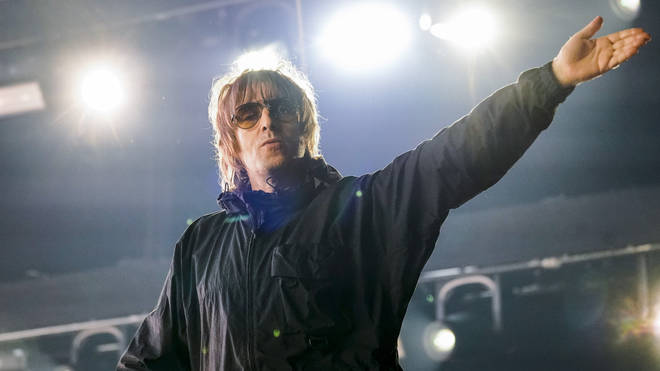 Liam Gallagher onstage at The O2 Arena, London - 17 August 2021