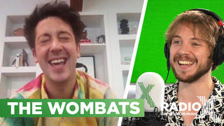 Murph from The Wombats speaks to George Godfrey