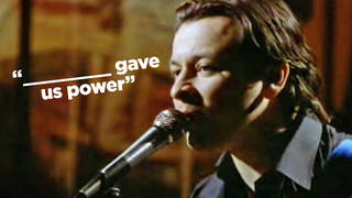 Can you complete the Manics lyric?