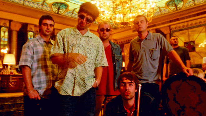 Oasis in 1997, the year that the world encountered Be Here Now for the first time