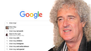 Brian May answers his Most Googled Questions