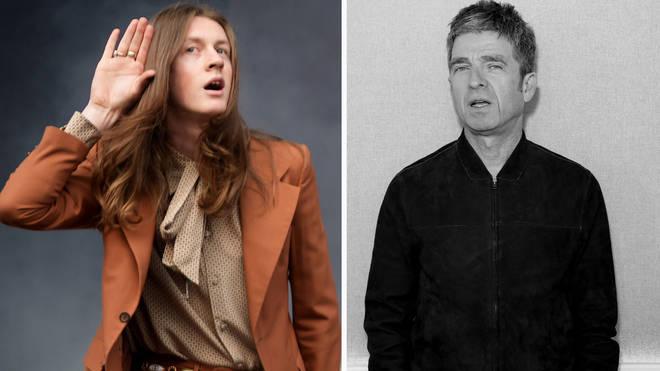 Blossoms Tom Ogden and Noel Gallagher