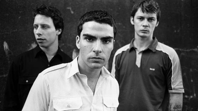 Stereophonics at the time of the release of Word Gets Around, 1997: Stuart Cable , Kelly Jones and Richard Jones