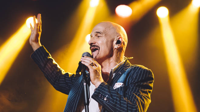 James frontman Tim Booth In Madrid