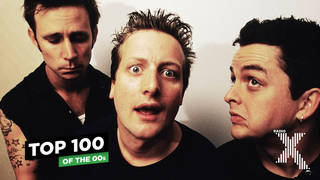 Green Day in 2001: Mike Dirnt, Tré Cool and Billie Joe Armstrong