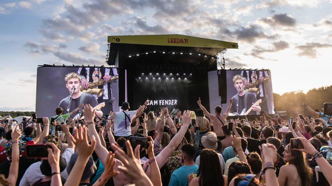 Sam Fender at Leeds Festival 2021