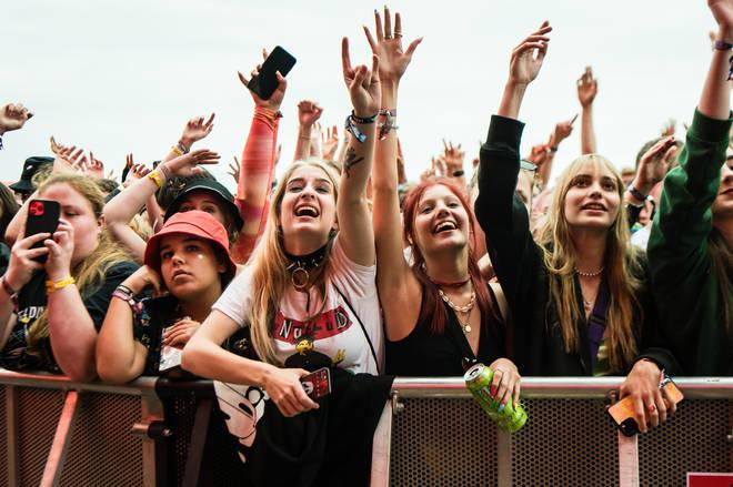 Crowds at Leeds Festival 2021