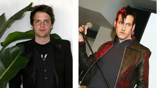 Brandon Flowers of The Killers and Sam Endicott of The Bravery