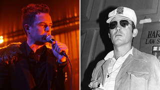 The Killers frontman Brandon Flowers was influenced by author Hunter S. Thompson.
