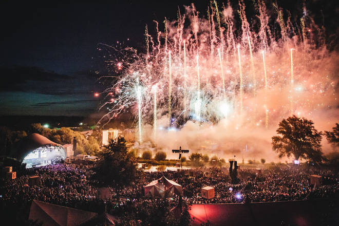The Saturday spectacle at Secret Garden Party