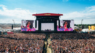 Reading Festival stage 2021