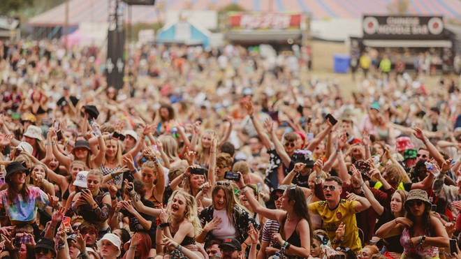 The crowd at Reading Festival 2021