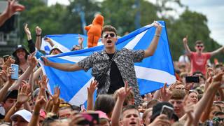 Festival Goers Enjoy Scotland's TRNSMT Festival