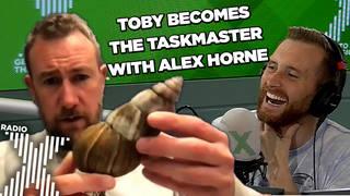 Alex Horne speaks to Toby Tarrant on Radio X