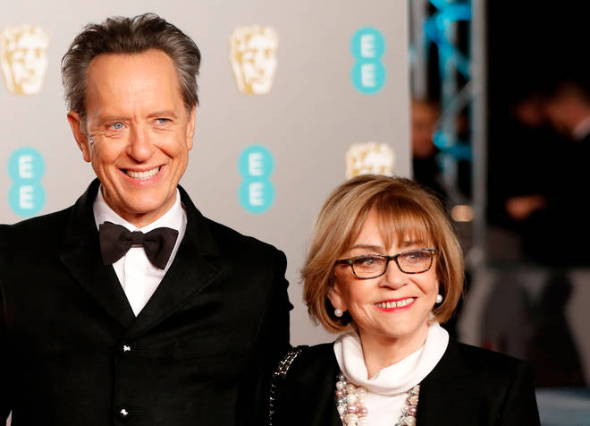 Richard Grant and his late wife